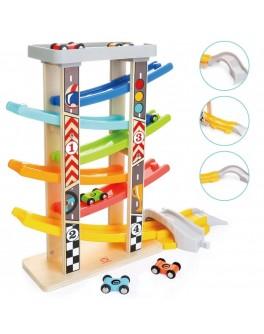 Дерев'яна іграшка Top Bright Швидкісний спуск на 6 поверхів - top b 120334