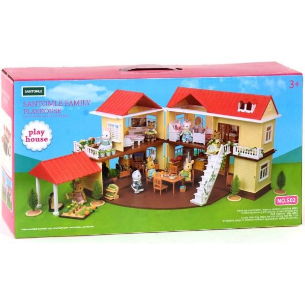 Будиночок-конструктор двоповерхова вілла Щаслива сім'я