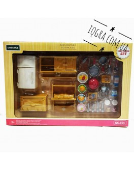 Набор мебели Счастливая семья Кухня для кукол лол - igs Т 04