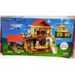 Будиночок-конструктор двоповерховий Щаслива сім'я - igs S 03