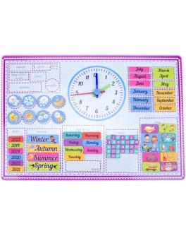 Календарь магнитный для изучения английского языка Розумний Лис - roz 90087