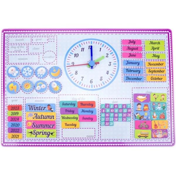 Календар магнітний для вивчення англійської мови Розумний Лис - roz 90087