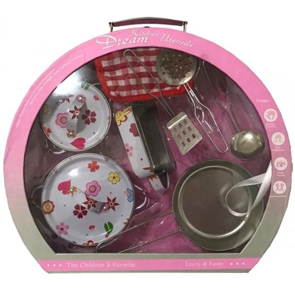 Набор игрушечной металлической посуды