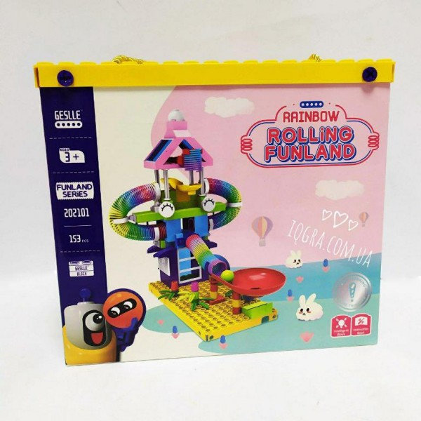 Конструктор з пружинками Rolling Funland 202101