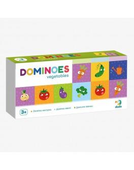 Настільна гра DoDo Доміно Овочі (300249) - dodo 300249