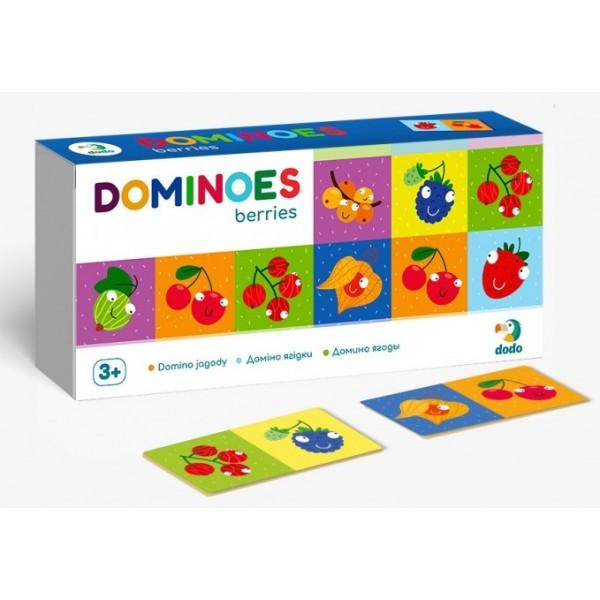 фото настольная игра DoDo Домино Ягоды