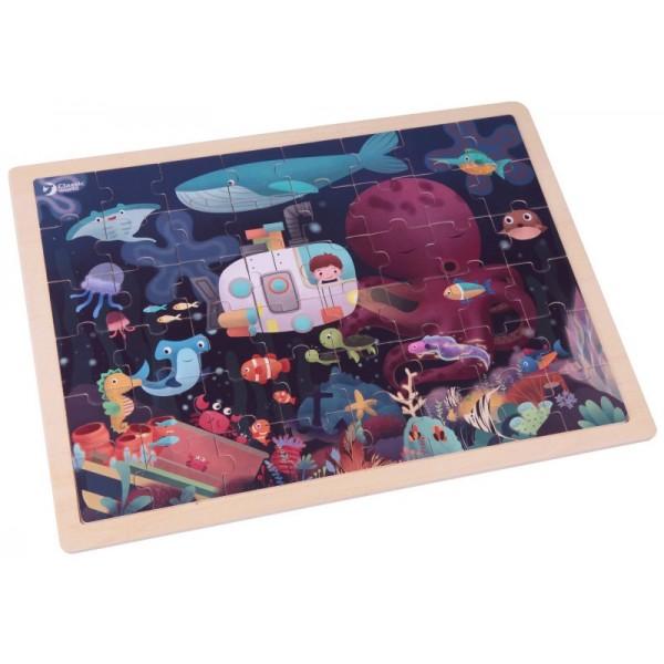Дерев'яний пазл Classic World Підводний світ - CW 54266