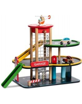 Дерев'яна іграшка Classic World Гараж - CW 53658