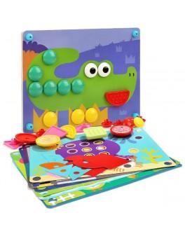 Детская мозаика 8 в 1 Top Bright - top b 130895