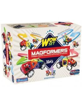 Магнитный конструктор Magformers Удивительный набор, 16 элементов - ITT 707004