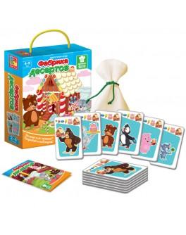 Карткова гра Vladi Toys Фабрика десертів (VT2308-10) - VT2308-10