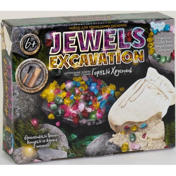 Набір для проведення розкопок Jewels Excavation, Danko Toys