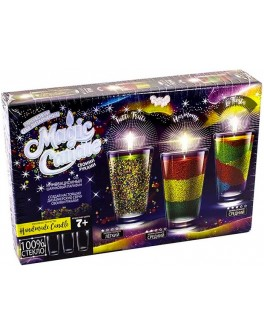Набор творчества Magic Candle парафиновые свечи своими руками, Danko Toys - igs MgC-01-01