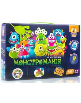 Гра настільна з липучками Vladi Toys Монстроманія (VT8044-23) - VT8044-23
