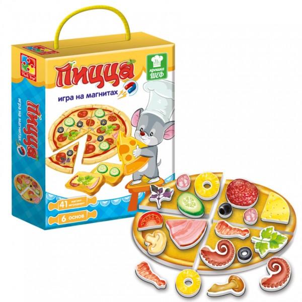 игра по математике Vladi Toys Пицца
