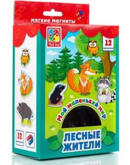 Набор магнитов Vladi Toys Мой маленький мир. Лесные жители (VT3106-06) - VT3106-06