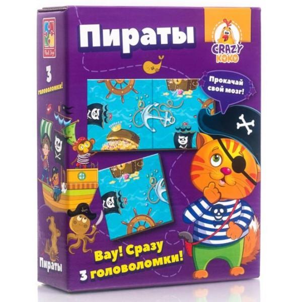 Гра Vladi Toys Головоломки. Пірати