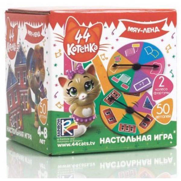 Игра настольная Vladi Toys 44 Кота. Мяу-ленд