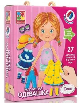 Магнитная одевашка Vladi Toys Соня (VT3702-03) - VT3702-03 / VT3702-07
