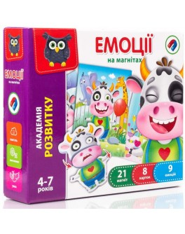 Магнітна гра Vladi Toys Емоції (VT5422-05) - VT5422-05