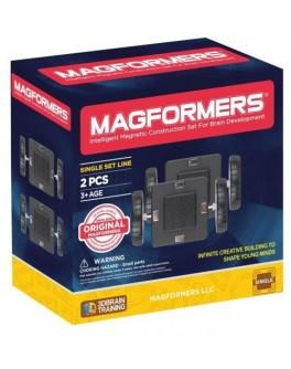 Магнітний конструктор Magformers Набір подвійних колес  - ITT 713007