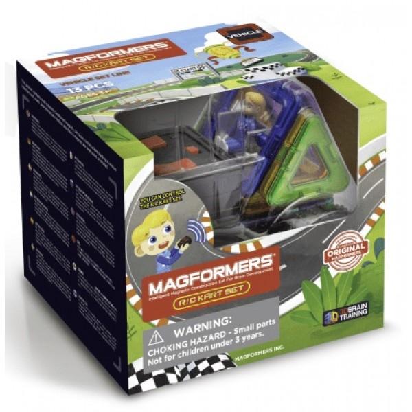 Магнітний конструктор Magformers Картинг з пультом управління 707018