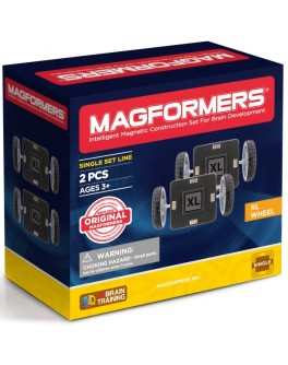 Магнитный конструктор Magformers Колеса XL, 2 элемента - ITT 713027