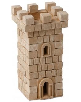 Конструктор з керамічних цеглинок Вежа, 80 деталей - esk 70699