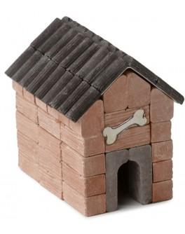 Конструктор з керамічних цеглинок Будинок для собак, 55 деталей - esk 70675