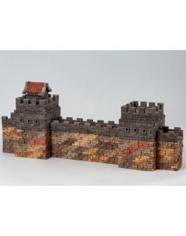 Конструктор з керамічних цеглинок Велика китайська стіна, 1530 деталей - esk 70484