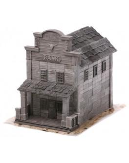 Конструктор з керамічних цеглинок Банк. Дикий Захід, 240 деталей - esk 70545