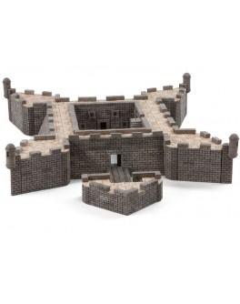 Конструктор з керамічних цеглинок Форт Кастель Сан-Маркос 1450 деталей - esk 70477