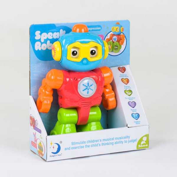 Говорящий игрушечный робот 2209-14