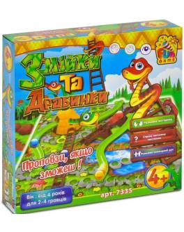 Настольная игра Fun Game Змійки та драбинки (7335) - igs 7335