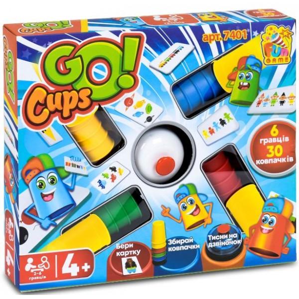 Настольная развлекательная игра Fun Game Go Cups