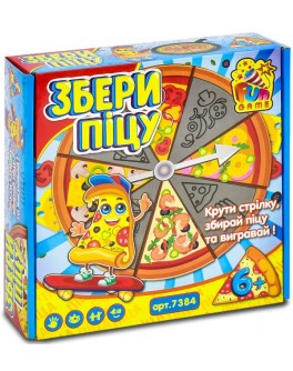 Настільна гра Fun Game Збери піцу (7384) - igs 7384