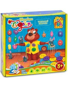 Настільна гра Fun Game Шнурівка і ґудзик (7383) - igs 7383