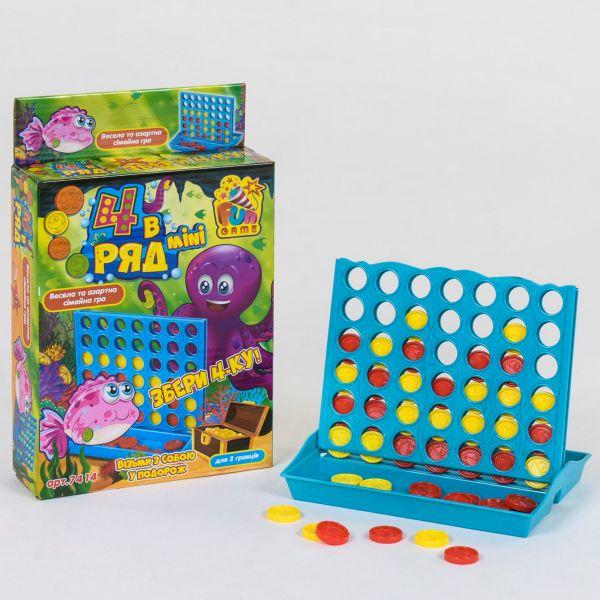 Настільна гра Fun Game 4 в ряд mini (7414) - igs 7414