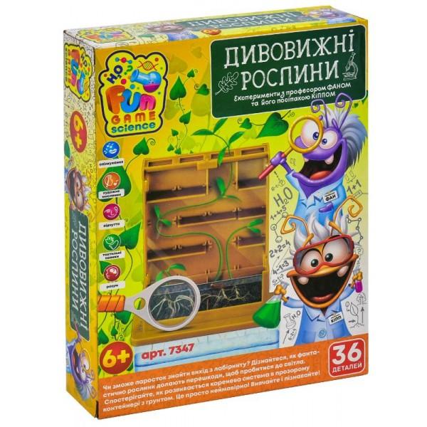 Науковий набір Fun Game Дивовижні рослини (7347) - igs 7347