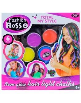 Набор мелков для окрашивания волос Fashion Rosse YX8012