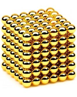 Неокуб NeoCube золотой магнитная головоломка 5мм - Kub NKS 2