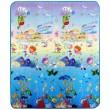 Дитячий двосторонній килимок Limpopo Сафарі-пікнік та Підводний світ, 150х180 см - SGR LP010-150