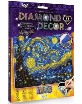 Набор для творчества Danko Toys Алмазная картина Diamond Decor (DD-01–01) - mlt DD-01-01