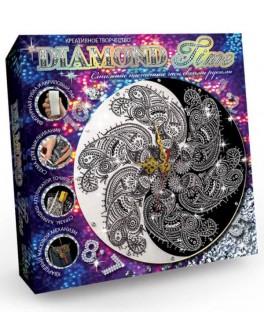 Набор для творчества Danko Toys часы Diamond Time (DTM-01-01U) - mlt DTM-01-01U