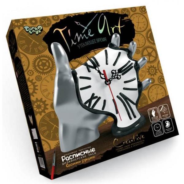 Розписний годинник Time ART