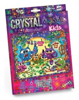 Набір для творчості Danko Toys Мозаїка Crystal Mosaic Kids (CRMk-01-01) - mlt CRMk-01-01