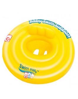 Надувной плотик Bestway Swim Safe со спинкой 69 см (32096) - mpl 32096