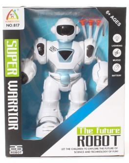 Робот музыкальный Super Warrior ходит и стреляет - igs 827