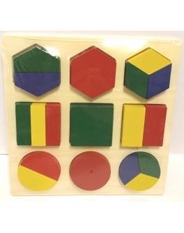 Дроби великі Світ дерев'яних іграшок - der 453