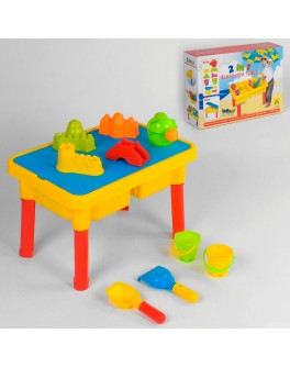Столик-пісочниця для піску та води Аквапарк 2 в 1